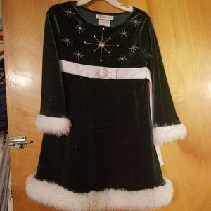 Girls Christmas Holiday dress